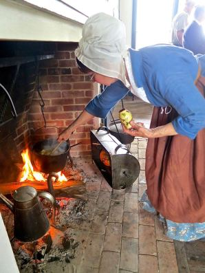 Hearth Cooking at the Muster