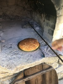 Remove in bake oven