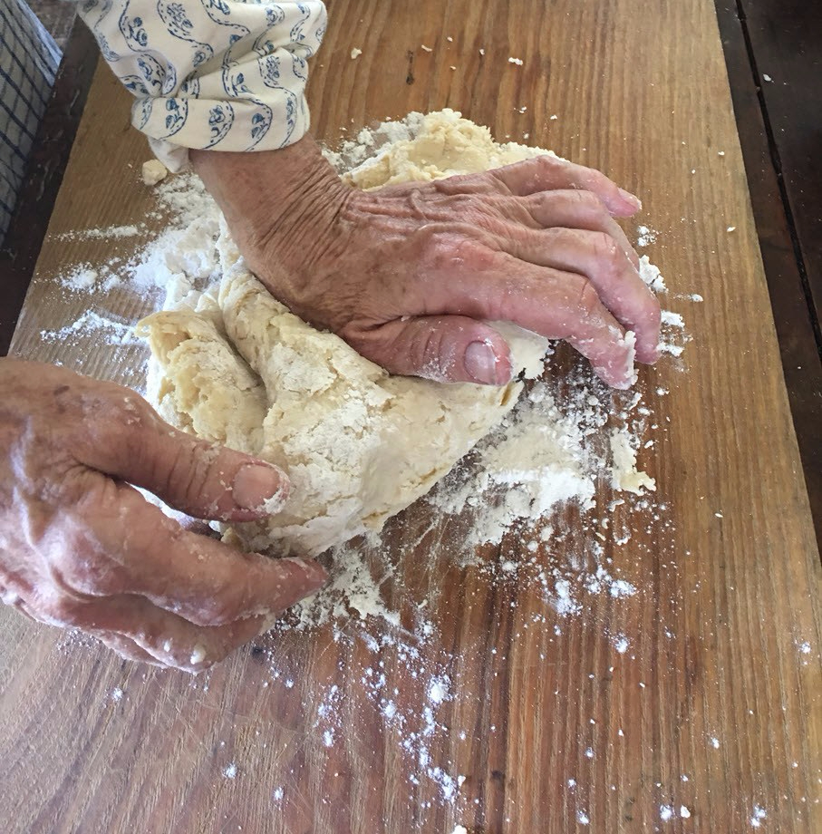 Knead dough lightly into a ball