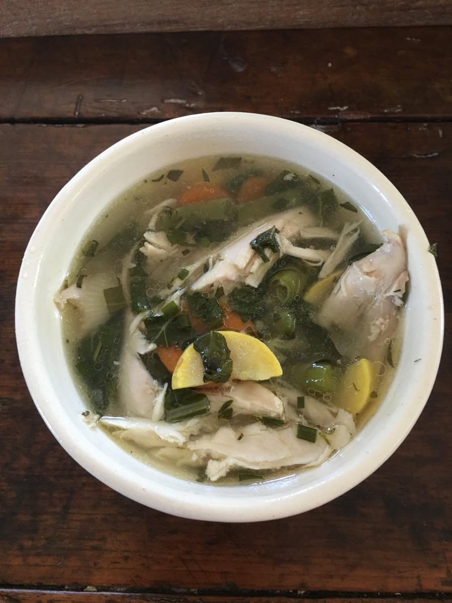 Bowl of Venoge Summer Soup