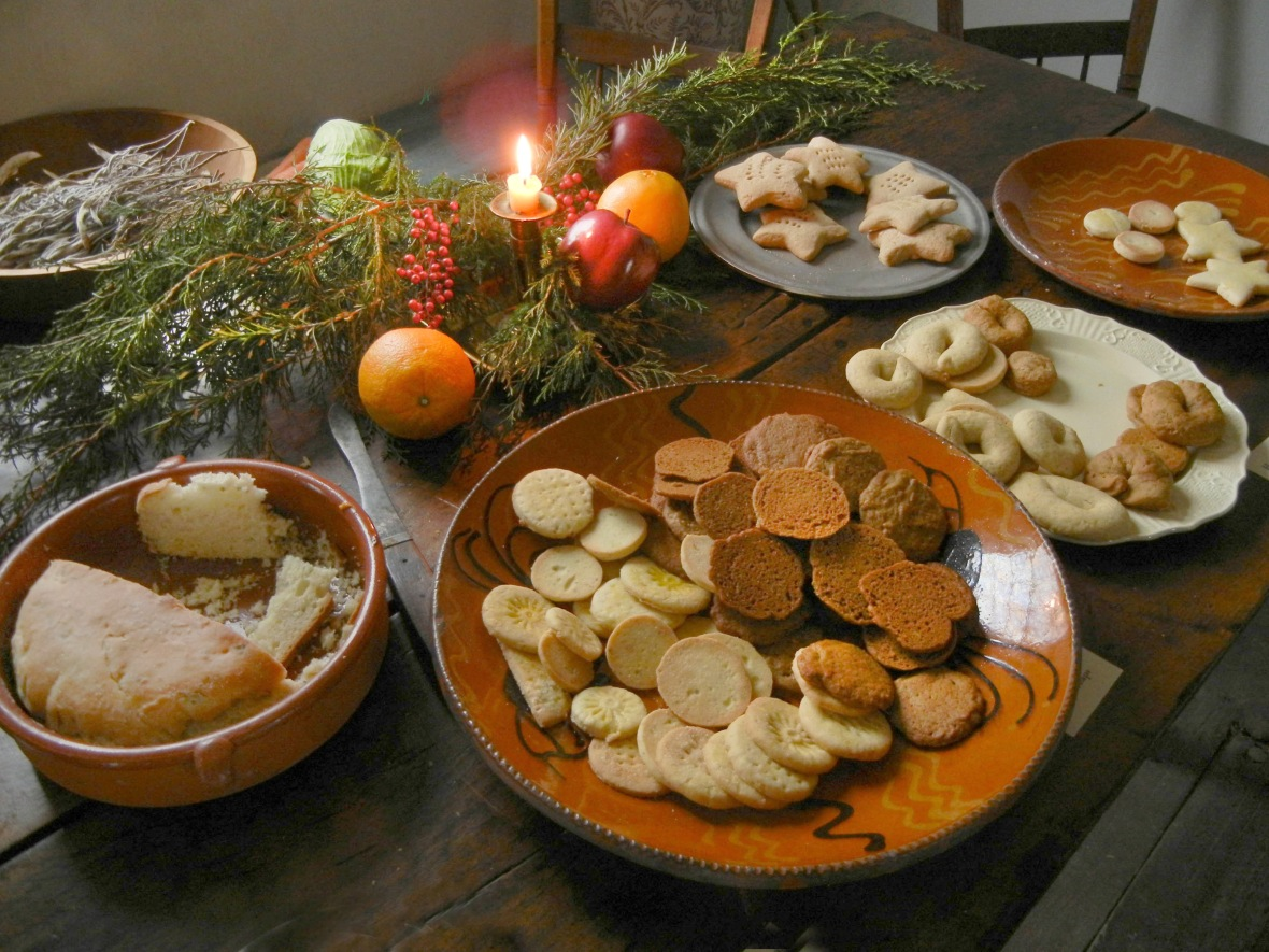 Country Christmas treats